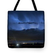 Lightning Cloud Burst Tote Bag