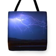 Lightning From Heaven Tote Bag