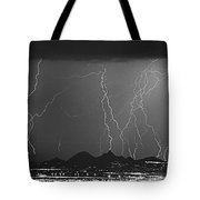 Lightning Long Exposure Tote Bag
