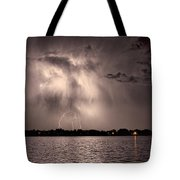 Lightning Man Tote Bag