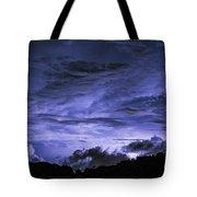 Lightning Over Pohnpei Tote Bag