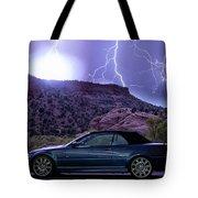 Lightning Storm Tote Bag