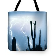 Lightning Storm Chaser Payoff Tote Bag