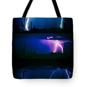 Lightning Storm Progression Tote Bag