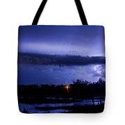 Lightning Thunderstorm July 12 2011 St Vrain Tote Bag
