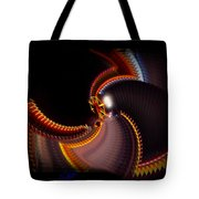 Lightning Wheel Tote Bag