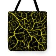 Lightning - Yellow Tote Bag