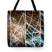 Lightpainting Quads Art Print Photograph 3 Tote Bag
