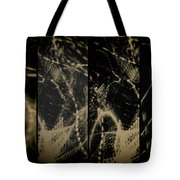 Lightpainting Quads Art Print Photograph 4 Tote Bag