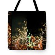 Lightpainting Quads Art Print Photograph 5 Tote Bag