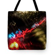 Blurred Ladder Tote Bag