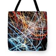 Lightpainting Single Wall Art Print Photograph 9 Tote Bag