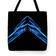 The Meeting Of V Tote Bag