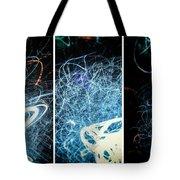 Neon Pubic Fuzz Tote Bag