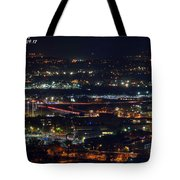 Lights Across Birmingham Tote Bag