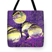 Lights Along The Way 4 Tote Bag