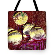 Lights Along The Way 5 Tote Bag