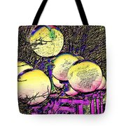 Lights Along The Way Tote Bag