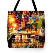 Lights And Shadows Of Amsterdam Tote Bag