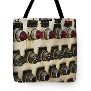 Lights And Switches Tote Bag