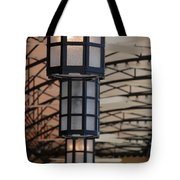 Lights At City Place Tote Bag