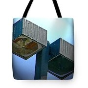 Lights At The Parking Lot Tote Bag