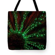 Lights Beneath The Fronds Tote Bag