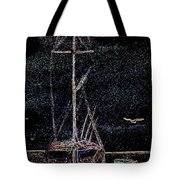 Lights By Night Tote Bag