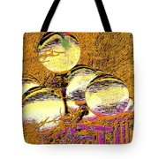 Lights Lights Along The Way 2 Tote Bag