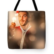 Lights Of Christmas Ideas Tote Bag