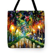 Lights Of Hope Tote Bag