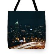 Lights Of Philadelphia Tote Bag