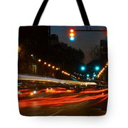 Lights Of The City Tote Bag