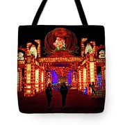 Lights Of The World Hallway Of Fortunes Tote Bag