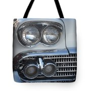 Lights On A '58 Chevy Tote Bag