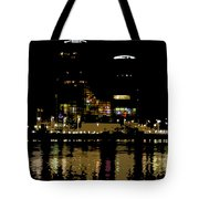 Lights On History Tote Bag