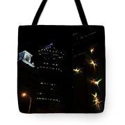 Lights On Tampa Tote Bag
