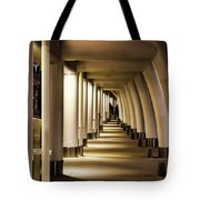 Lights Shadows And Arches Tote Bag