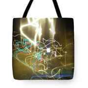 Lights That Attack Cars Tote Bag