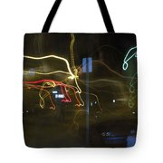 Lights That Attack Cars Two Tote Bag