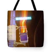 Lights That Eat Do Not Walk Signals Tote Bag
