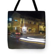 Lights That Race Tote Bag