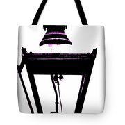 Lightshade In A Hint Of Purple Tote Bag