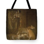 Ligres Bred  Agass Tote Bag