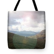 Lihgt In The Sky Tote Bag
