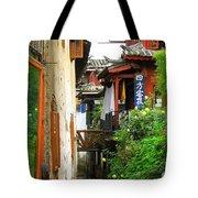 Lijiang Back Canal Tote Bag