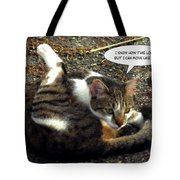 Like A Cat Tote Bag
