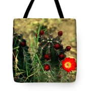 Like A Little Red Star Tote Bag