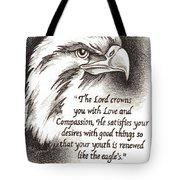 Like The Eagle Tote Bag