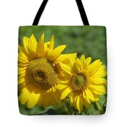 Like Two Smiles In Bloom Tote Bag